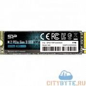 SSD накопитель Silicon Power P34A60 SP001TBP34A60M28 1000 Гб