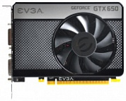 Видеокарта EVGA GeForce GTX 650 1058 МГц PCI-E 3.0 GDDR5 5000 МГц 1024 Мб 128 бит