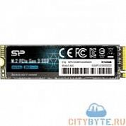 SSD накопитель Silicon Power P34A60 SP512GBP34A60M28 512 Гб