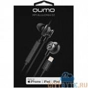 Наушники Qumo accord mini d2 (24381) чёрный
