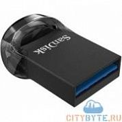 USB-флешка Sandisk ultra fit (SDCZ430-016G-G46) usb 3.1 16 Гб чёрный